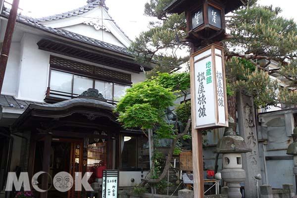 松屋日式旅館。