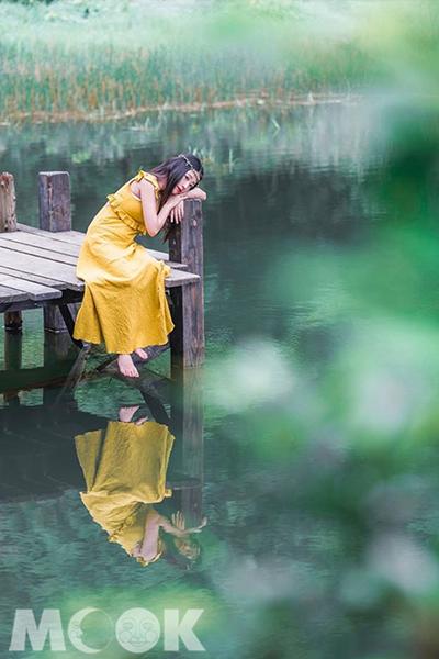 夢湖清幽的環境是其受歡迎最大的原因。 (圖/wusheng_photo)