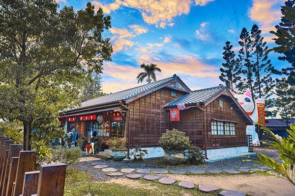 檜意森活村保留了傳統的日式建築 (圖/檜意森活村)