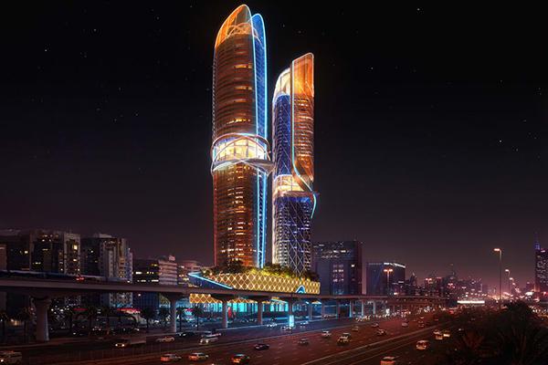 羅斯夢旅館雙塔高樓