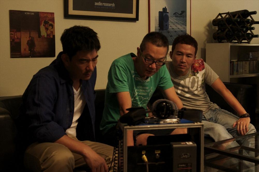 MV大師周格泰(中)首部電影,找來任賢齊、孫鵬助陣。