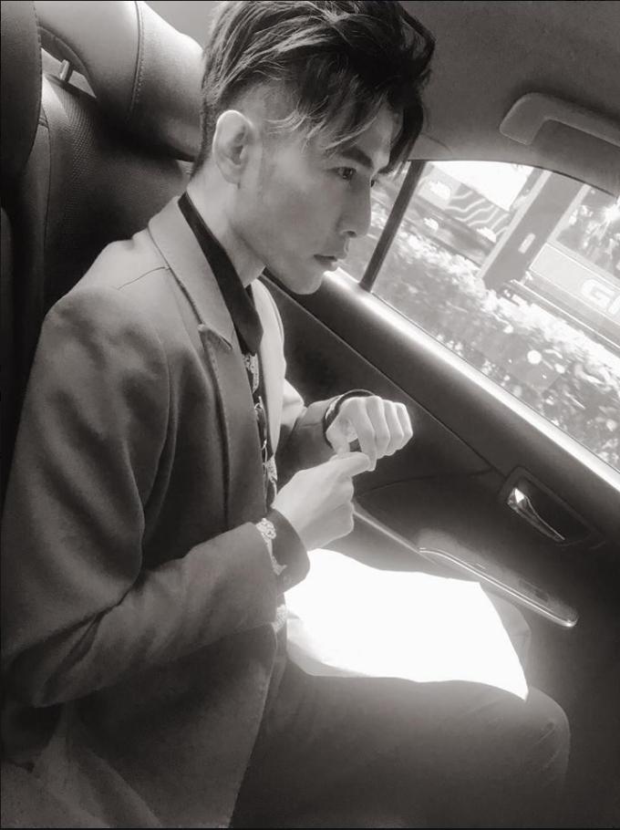 森田也喜歡被人家載,不過最害怕坐到快車。