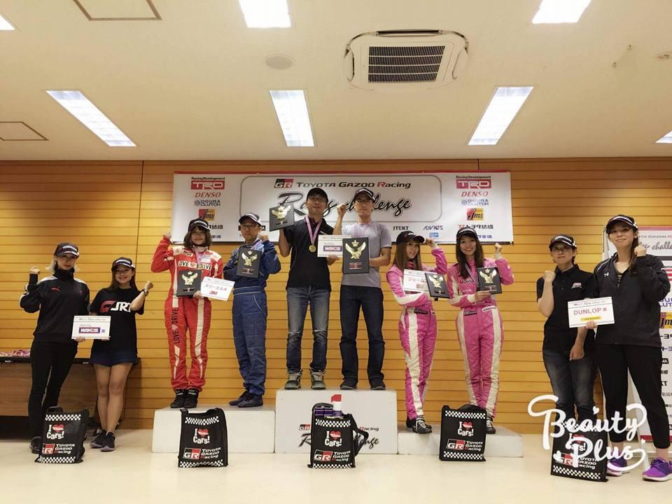 洪銘蔚賽車成績亮眼,在日本賽車界已小有名氣。