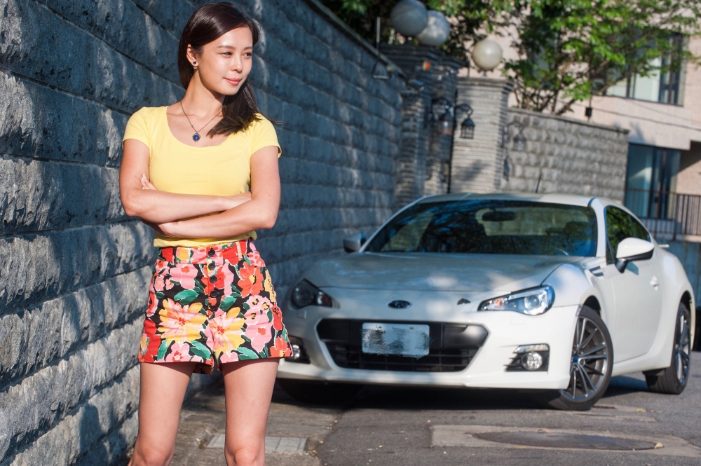 為了方便練習,Iris購入了這台充滿賽車性格的Subaru BRZ 6MT。圖/Iris提供