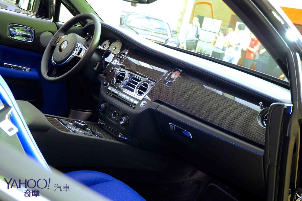 暗夜女神、幻影之魂 Rolls-Royce Wraith Black Badge唯二抵台