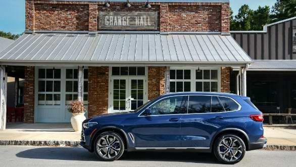 為了彰顯純正運動休旅基因,全新世代BMW X5皆搭載xLine風格套件(圖片來源:http://overdrive.in/reviews/2019-bmw-x5-first-drive-review/)