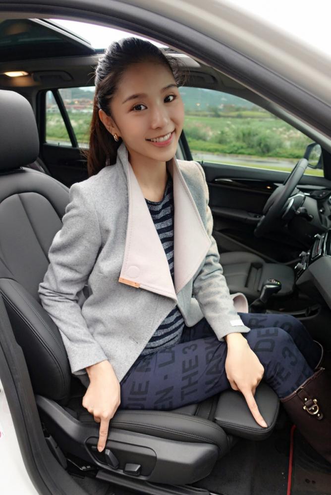 不但座椅的腰部支撐可以隨心所欲調整,連椅墊也可配合不同駕駛的腿長而做調整。