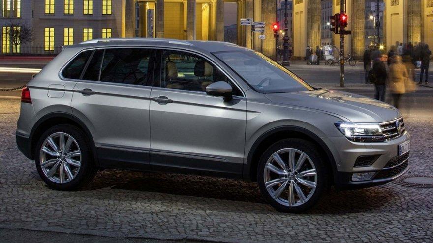 Volkswagen Tiguan本月以671台衝到第3名,提供多樣化的車型完全反應在熱絡買氣上