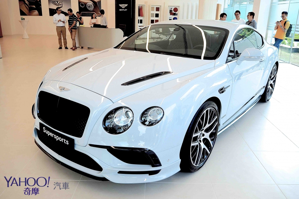 奢華,難以言喻!Bentley Continental Supersports限量抵台