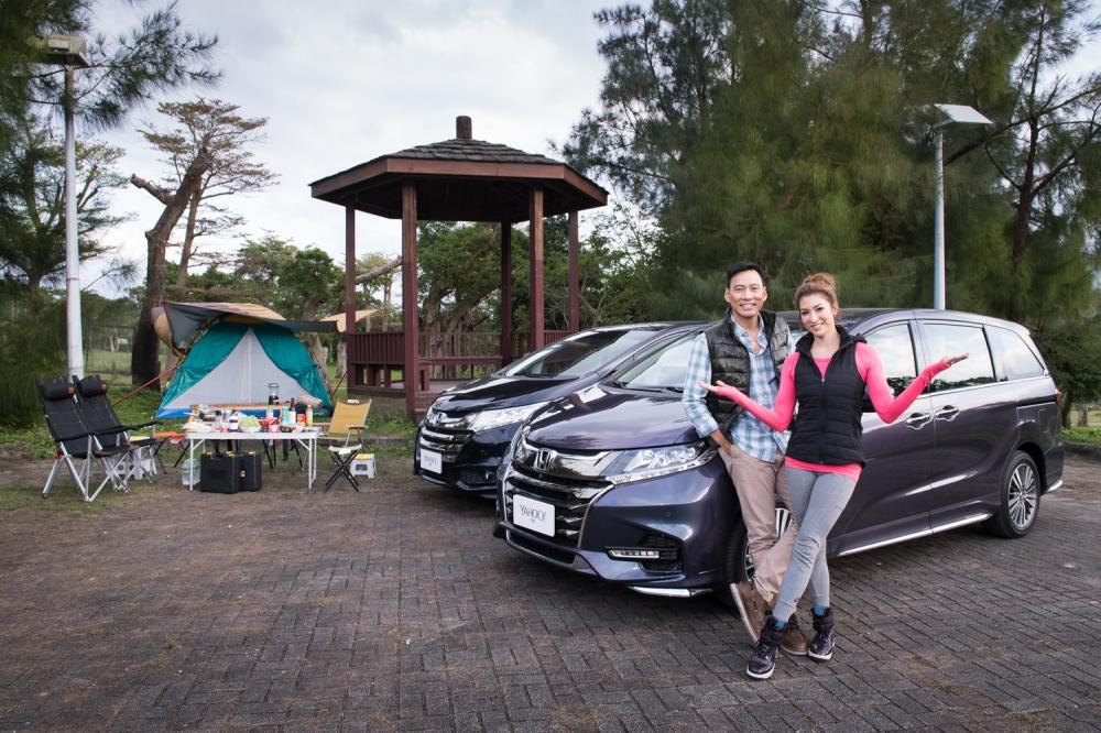 【明星聊愛車】開著兩台ODYSSEY露營去~艾力克斯與李詠嫻又來搶先體驗最新ODYSSEY囉!