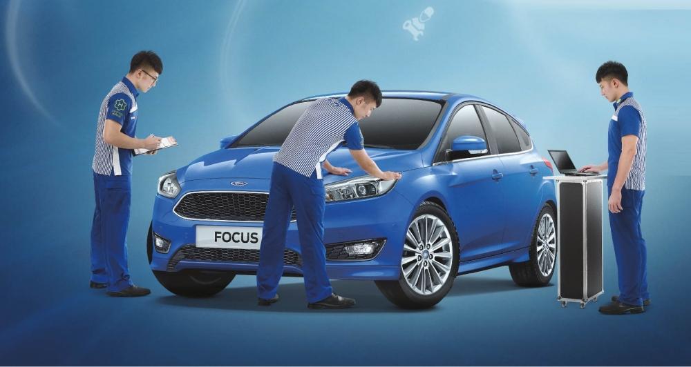 豪雨期間如有車輛救援及維修需求,Ford專業服務廠團隊將竭誠服務