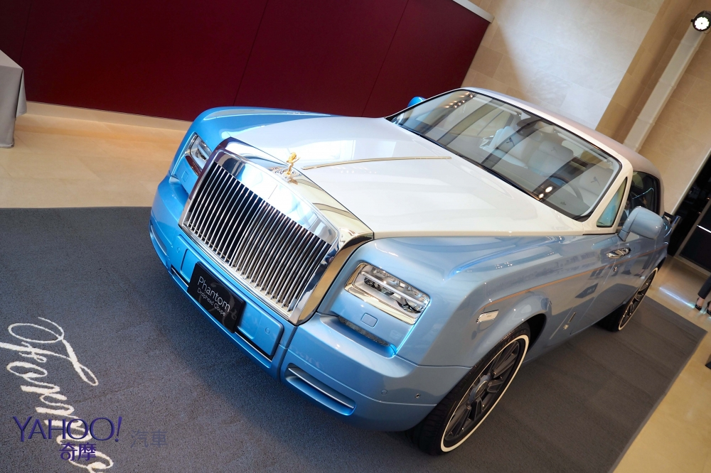 世界唯一現身台灣,Rolls-Royce Blue Magpie Phantom Drophead Coupé極致奢華女神降臨