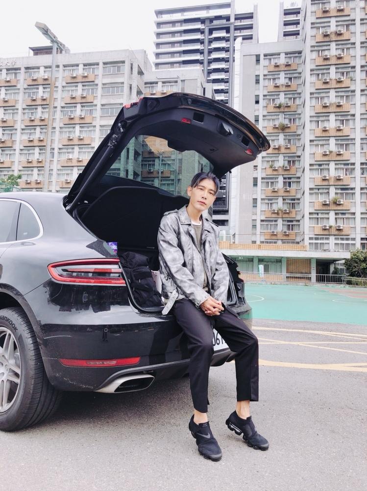 森田非常享受開車一邊開車、一邊聽音樂的感覺。