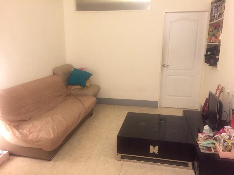 若有台北的工作,盧佳俐就會住在與朋友合租的公寓小窩。