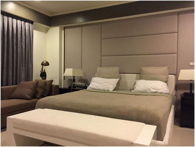 色調柔和,宛如5星飯店的主臥室。