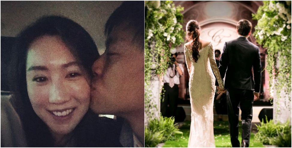 CRYSTAL WANG 品牌設計總監的王怡人,去年於義大利幸福新婚。