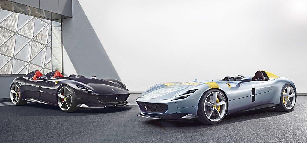 法拉利宣布2022年前將推出15款新車,全新Monza 巴黎車展將亮相