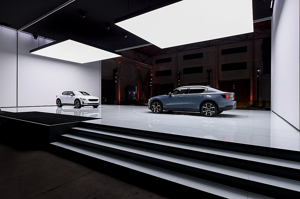 POLESTAR首款純電動車Polestar 2登場,明年將在浙江路橋量產