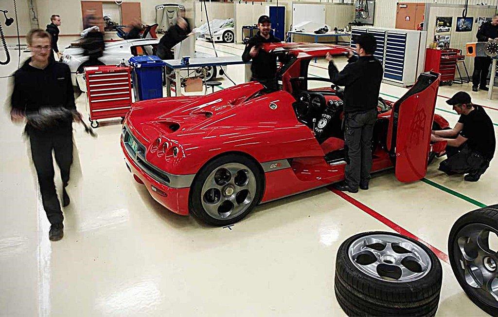 瑞典超跑車廠Koenigsegg獲得NEVS資金挹注,將轉型成為大量生產的