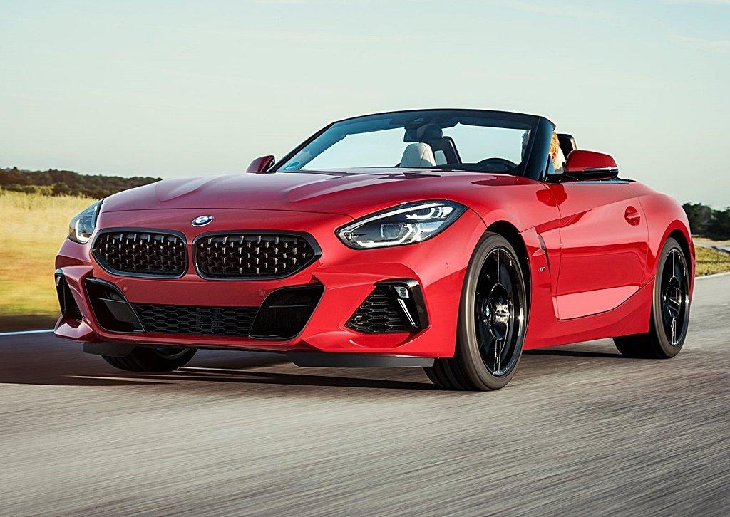 BMW全新一代Z4首波車型M40i First Edition圓石灘經典名車展全球