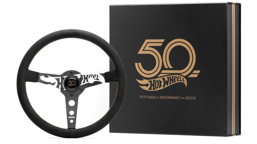 50周年慶生,Momo推出Hot Wheels紀念方向盤