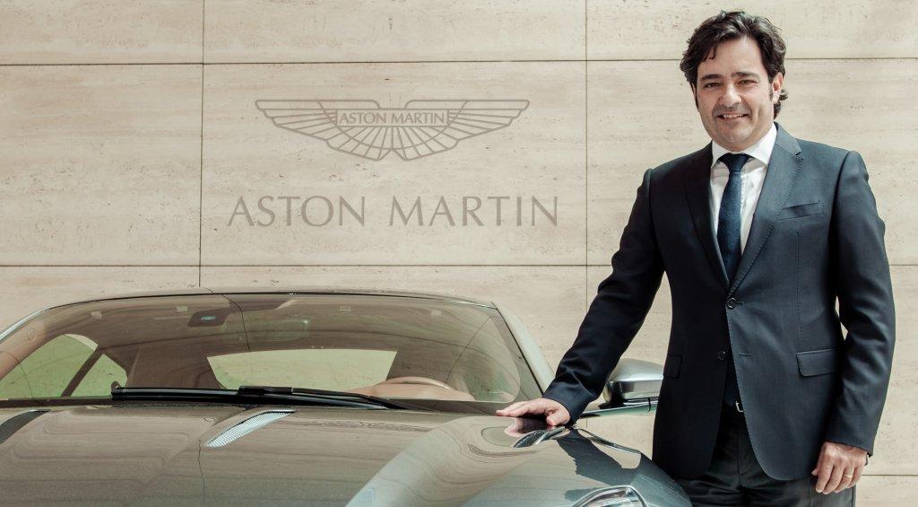 ASTON MARTIN任命Enrique Lorenzana為歐洲銷售總監