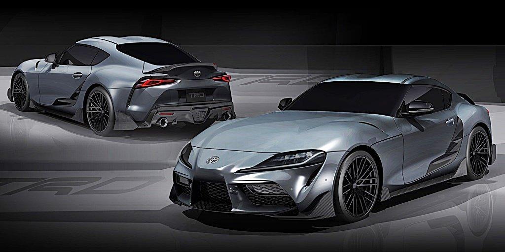 視覺與性能加料,TOYOTA 推出Supra TRD Concept