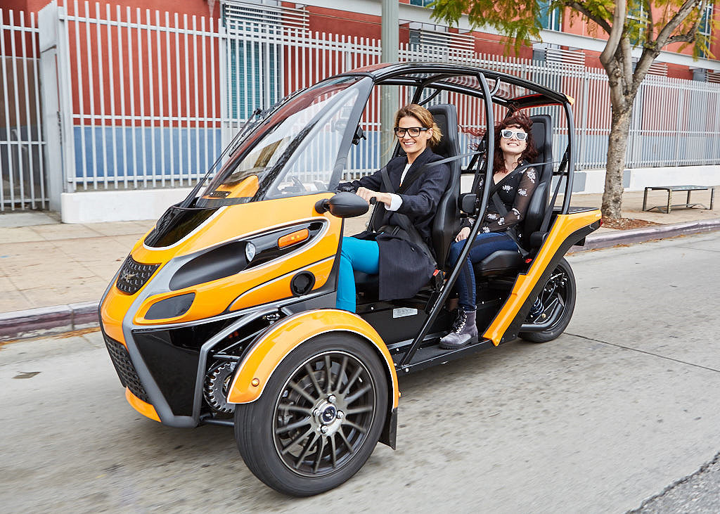 ARCIMOTO FUV Evergreen Edition三輪電動車正式在美發售!