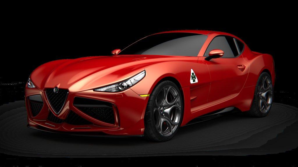 擋不住的轎跑魅力!ALFA ROMEO GTV預想圖釋出