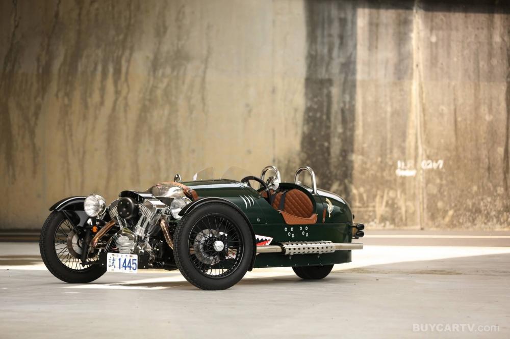 Morgan 3 Wheeler三輪車考慮生產電動版本!?
