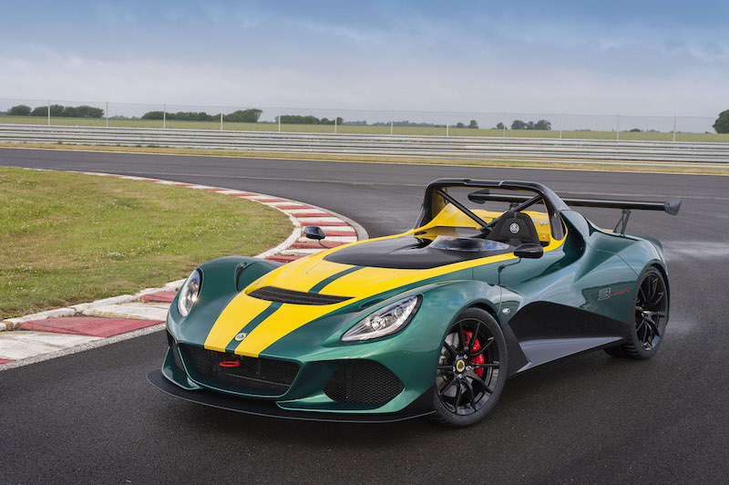 Gama Lotus即日起接單引進全新Lotus 3-Eleven