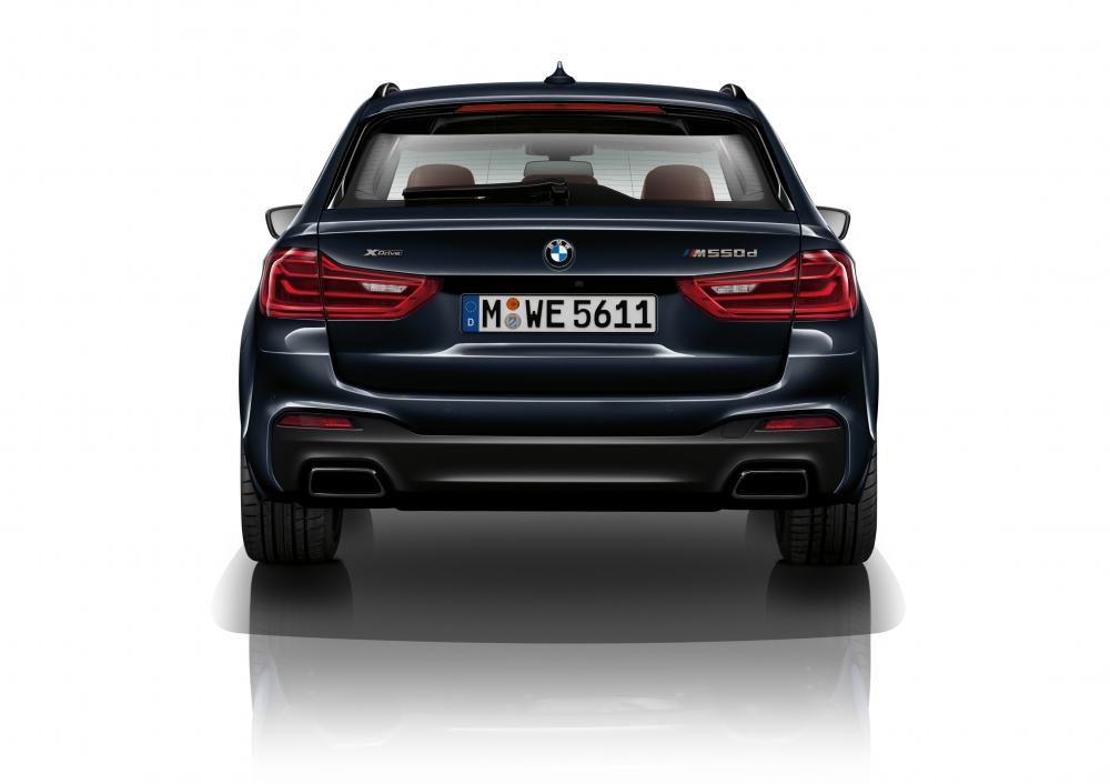 豪華與性能的集合 BMW M550d XDrive Touring強勢來襲