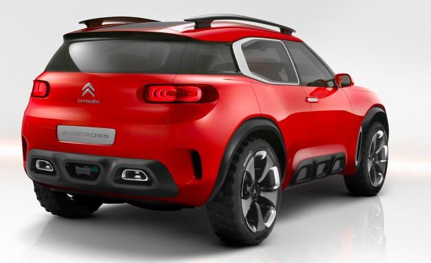 雪鐵龍發佈旗下最新概念車款『AirCross』圖集!