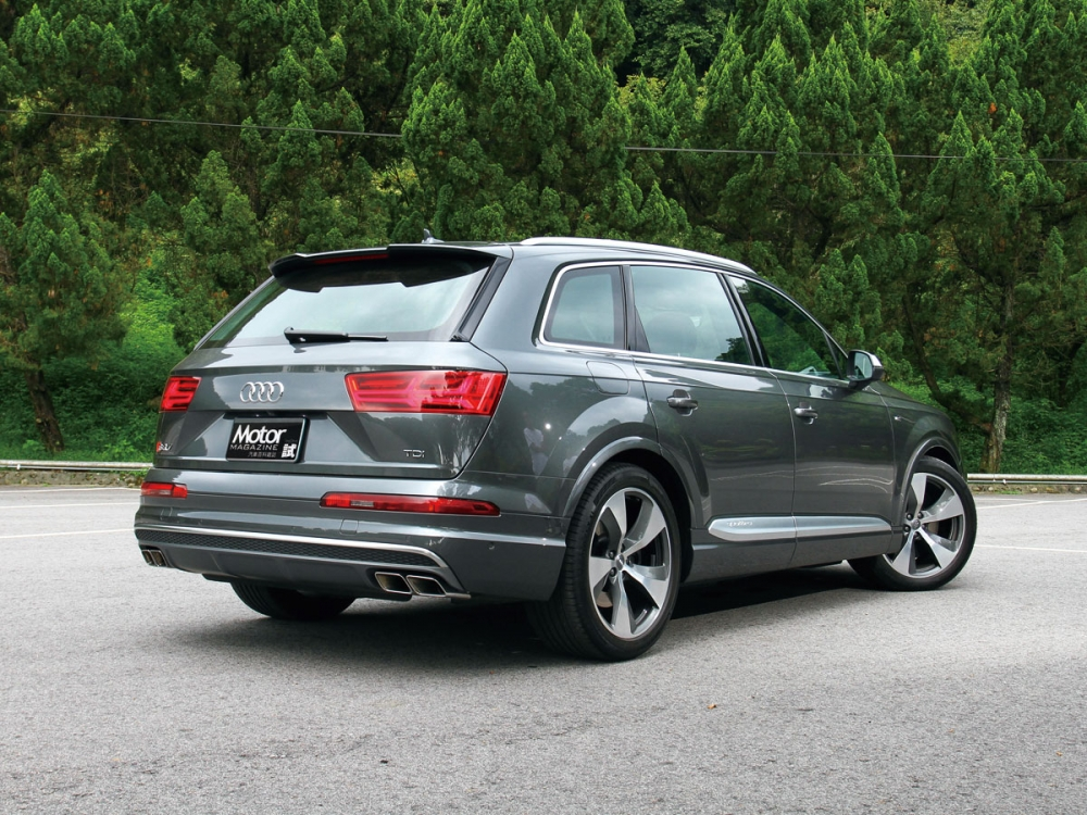 【路試報導】帶著全家飛 Audi SQ7
