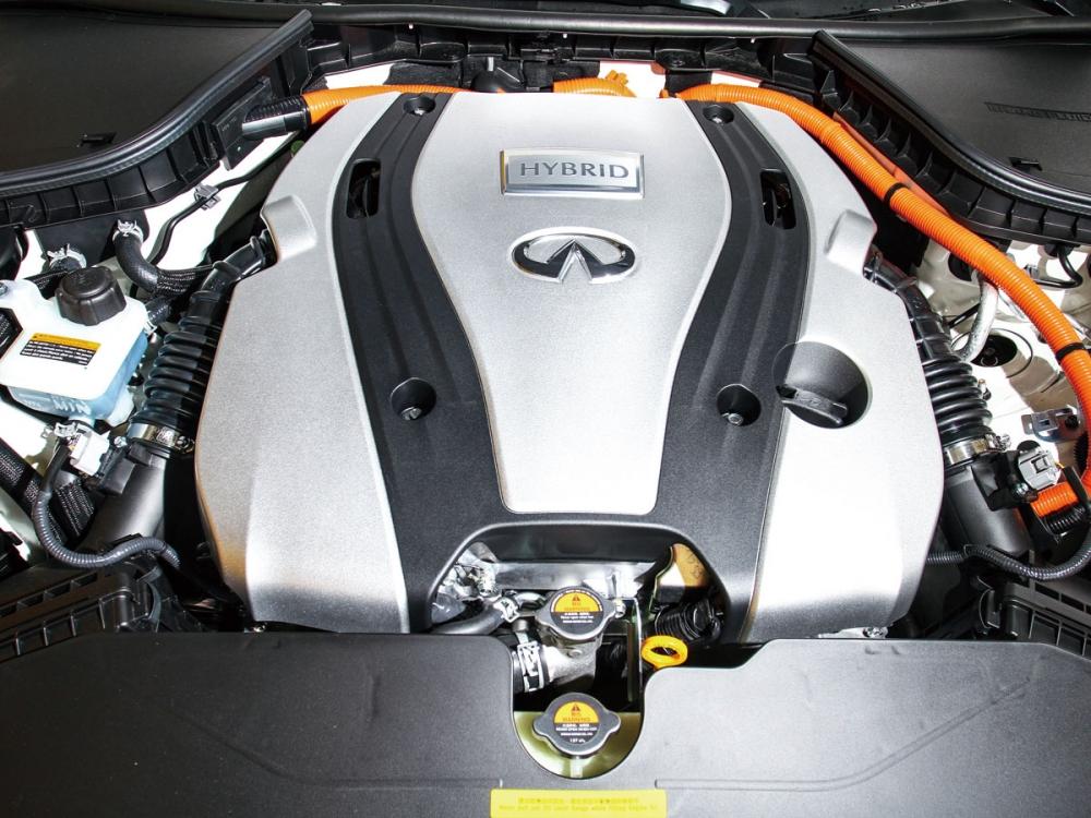 搭載3.5升油電V6 自然進氣引擎,可榨出360hp最大馬力與56.1kgm的最大扭力。