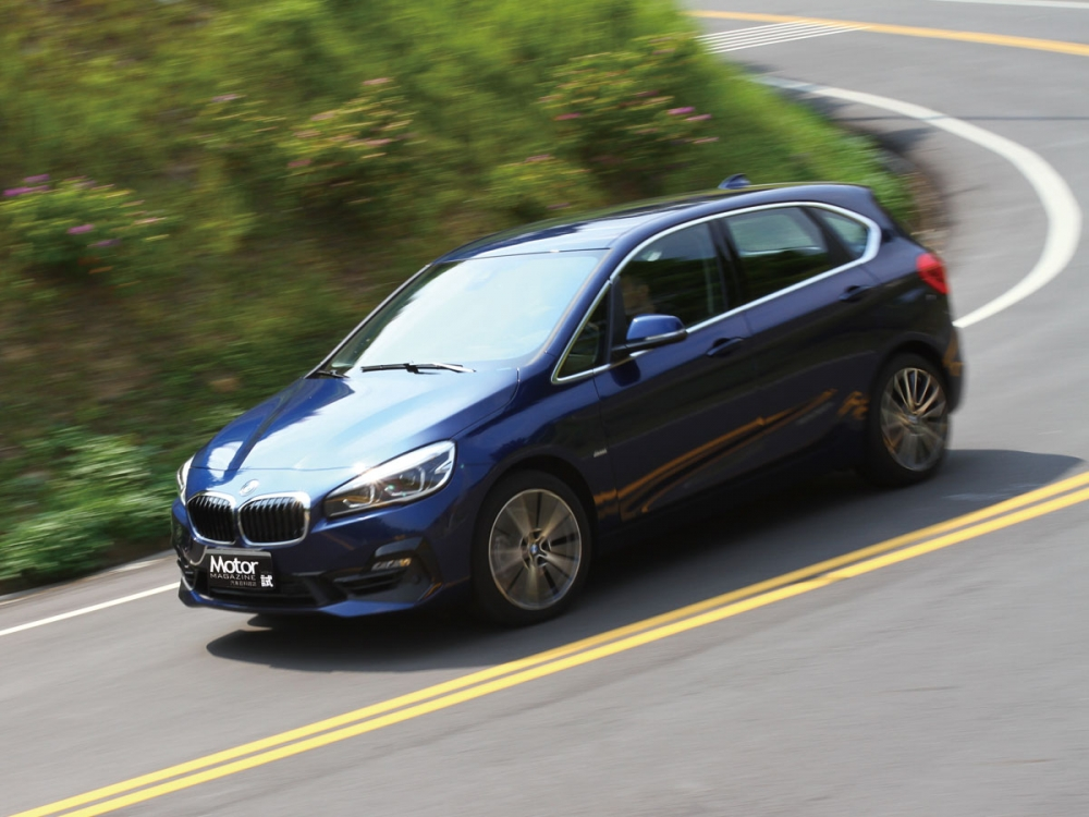 【路試報導】BMW 220i Active Tourer Sport Line