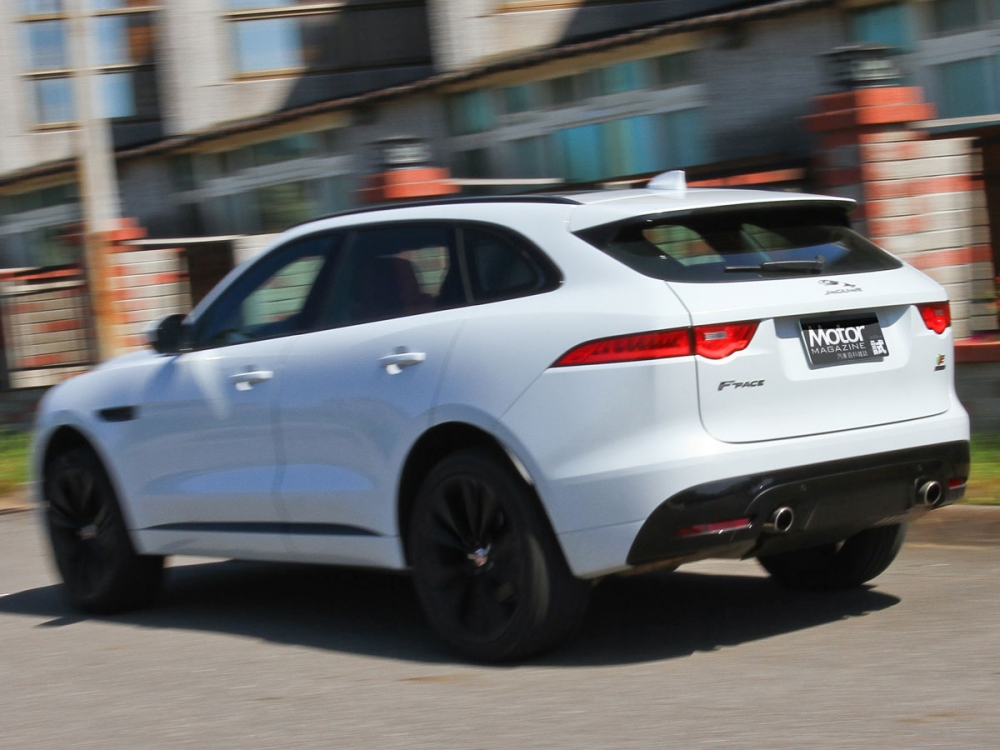 【路試報導】Jaguar F-Pace S AWD