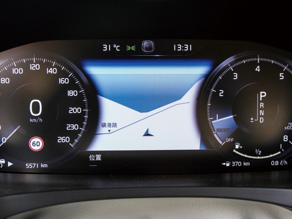 12.3吋數位整合資訊儀表組,讓駕駛能輕鬆判讀所有行車資訊。