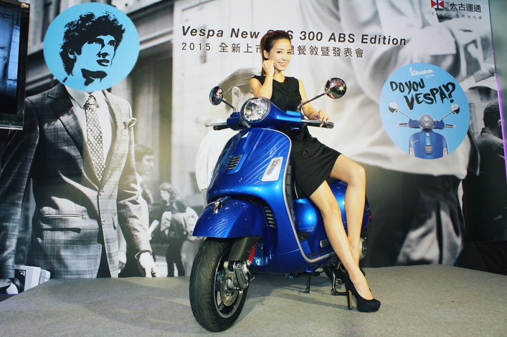 安全與機能全面升級!Vespa 2015 GTS 300 ABS Edition 29.5萬起上市