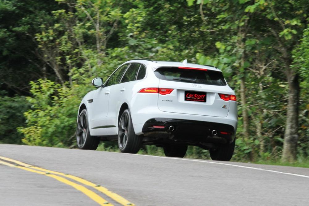 英倫本格跑旅 難掩豹力!Jaguar F-Pace S AWD試駕報導