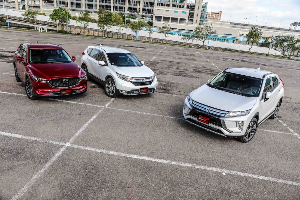 suv-mitsubishi-eclipse-cross-honda-cr-v-mazda-cx-5