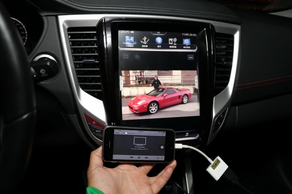透過HDMI手機鏡射功能也能無縫接軌智慧手機,帶來更便利的生活!