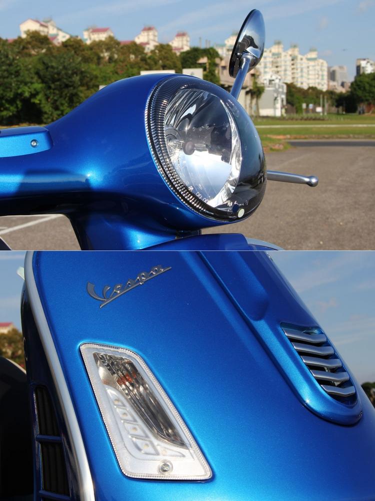 除了古色古香的圓形頭燈依舊以外,改款後更增加LED晝行燈提升科技感。