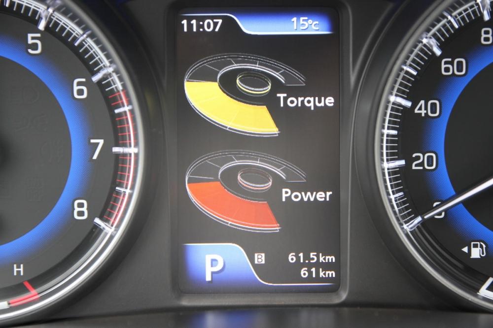 也可顯示引擎動力數出,只可惜沒有數值對照!