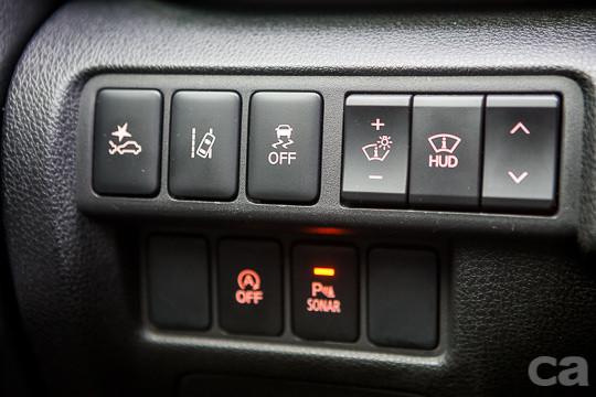 7顆安全氣囊、LDW車道偏移警示系統、ASC車身動態穩定控制系統、TCL循跡防滑控制系統、HAS陡坡起步輔助裝置等安全配備列入了ECLIPSE CROSS全車系標準配備。