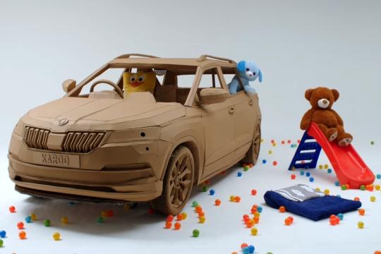 這張訂單很不一樣 孩子的奇幻SUV
