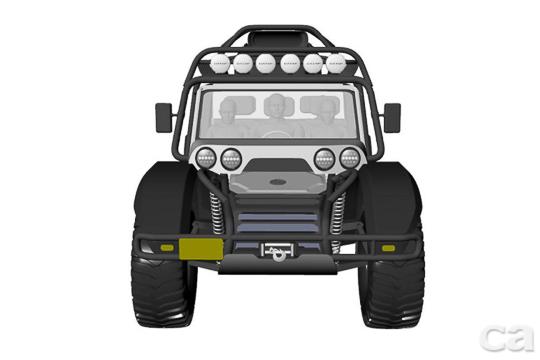 全新SCG Boot將可能採取三人座三門或是五人座五門的空間配置。