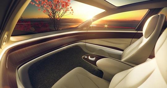 I.D. VIZZION Level 5全自動駕駛概念車 刻劃未來
