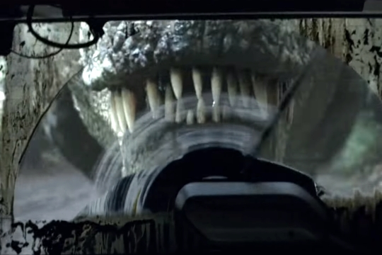 跟恐龍尬直線加速,被恐龍逼車也不過是Wrangler日常罷了,沒事兒沒事兒~
