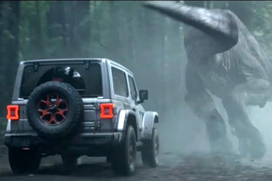 開著Wrangler旁邊出現恐龍只是正常能量釋放,免驚免驚!